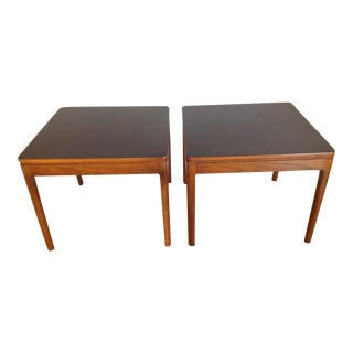Drexel Declaration Mid-Century Side Tables- A Pair
