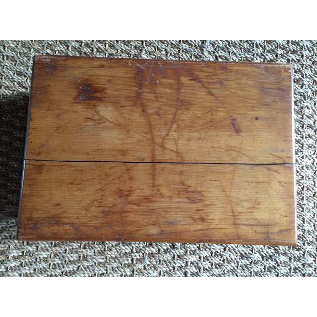 Rustic Wooden Storage Box - Image 4 of 6