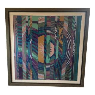 Hermes Silk Scarf Textile Art