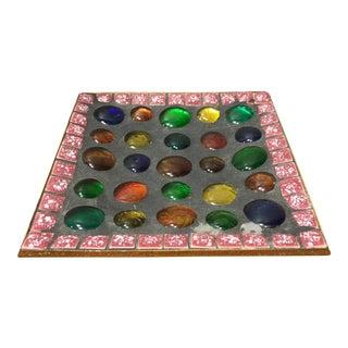 Vintage Square Mosaic Dish