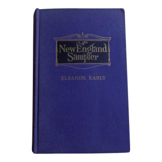 """Vintage 1940s """"New England Sampler"""" Book, Autographed"""