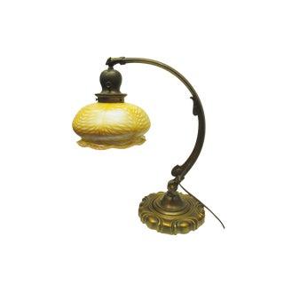 Art Deco Cast Bronze Desk Lamp