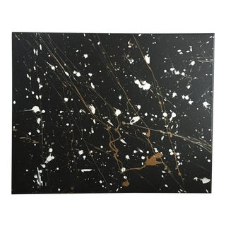 "Original Abstract ""Galaxy"" Canvas Painting"