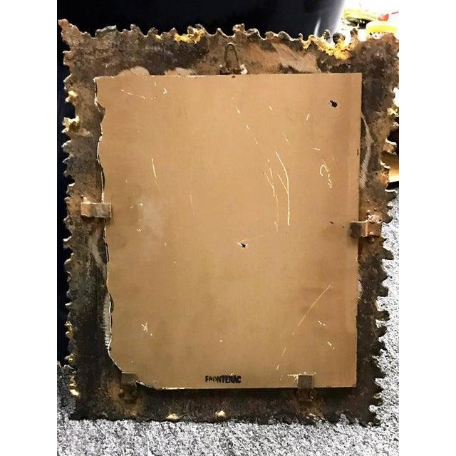 Paul Evans Style Brutalist Mirror - Image 2 of 8