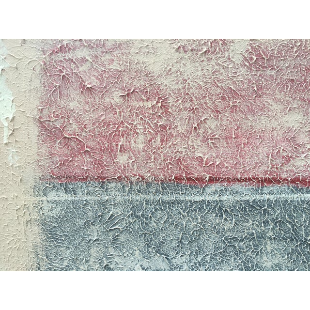 Large Abstract Painting by Manuel Romero - Image 7 of 9