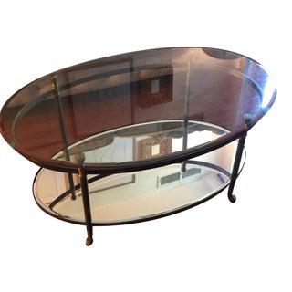 "Arhaus Charlotte 42"" Oval Coffee Table"