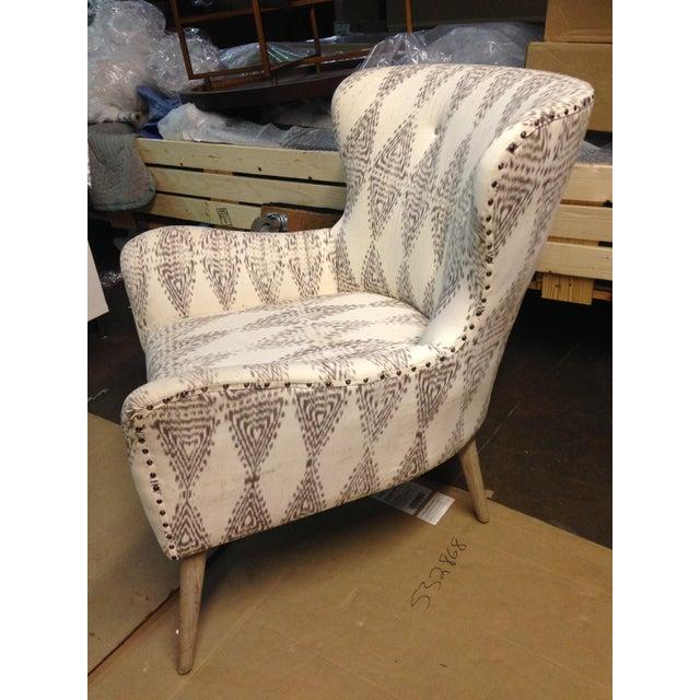 Hardword Frame Lounge Chair - Image 5 of 8