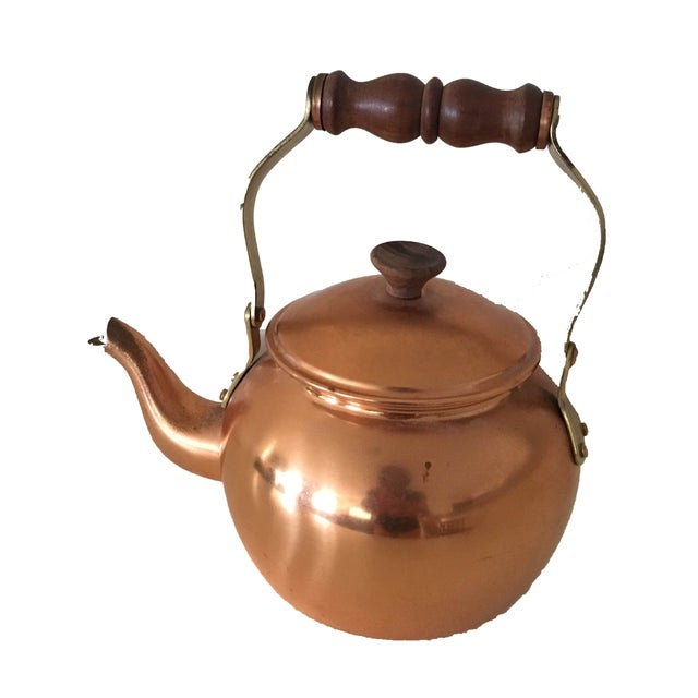 Vintage Copper Kettle - Image 1 of 4