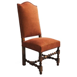 English Turned Wood Side Chair