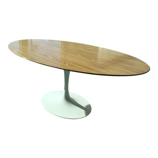 "Knoll Tulip Saarinen Dining Table - 78"" Oval"