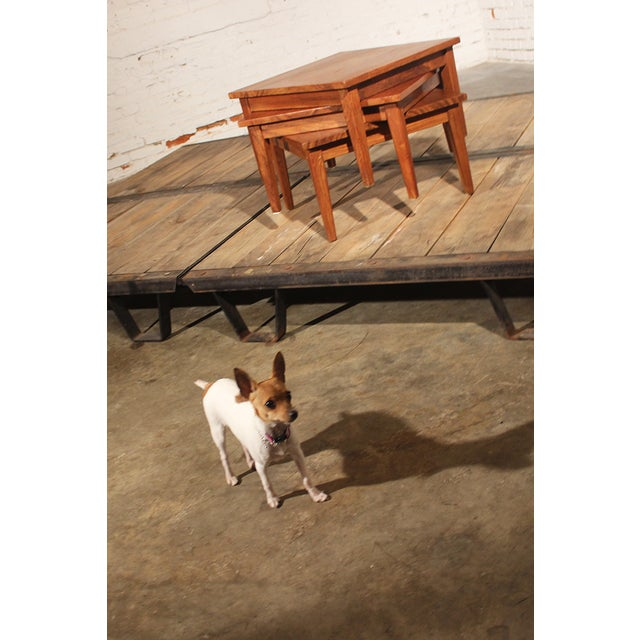 Mid-Century Stackable Rosewood Tables - Set of 3 - Image 9 of 9
