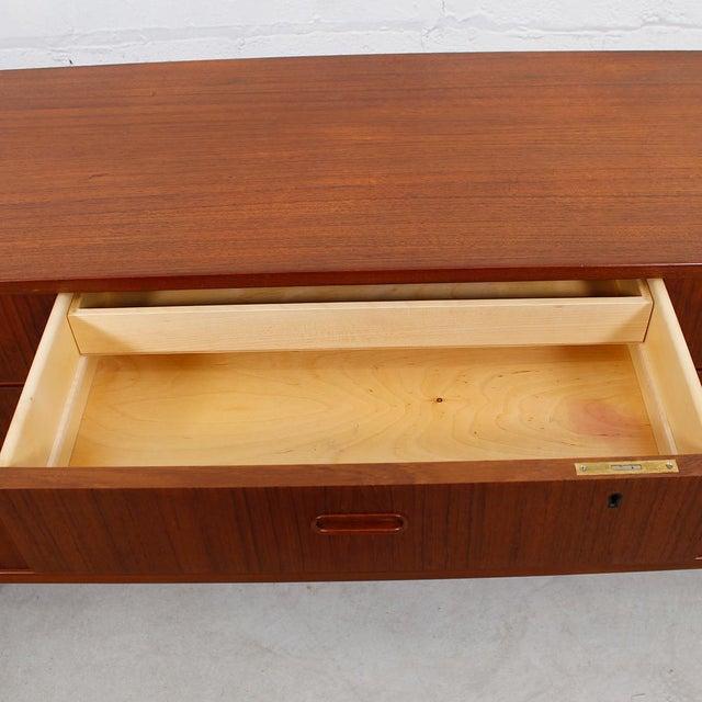 Falster Danish Modern Nine-Drawer Teak Dresser - Image 8 of 10