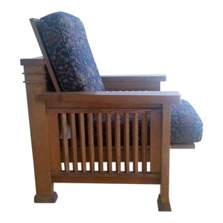 Frank Lloyd Wright Style Reclining Chair