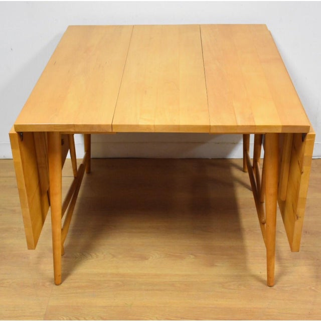 """Paul McCobb """"Predictor"""" Dining Table - Image 3 of 11"""