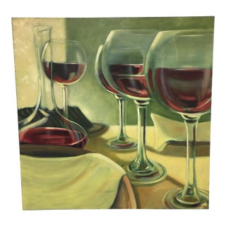 Original Oil PaintingThe Tasting by Judith Gaulke