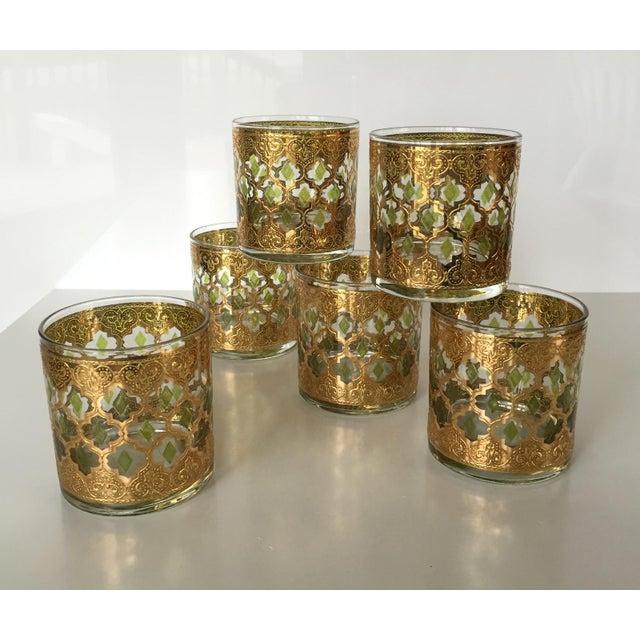 Vintage culver valencia glasses set of six chairish - Vintage valencia ...