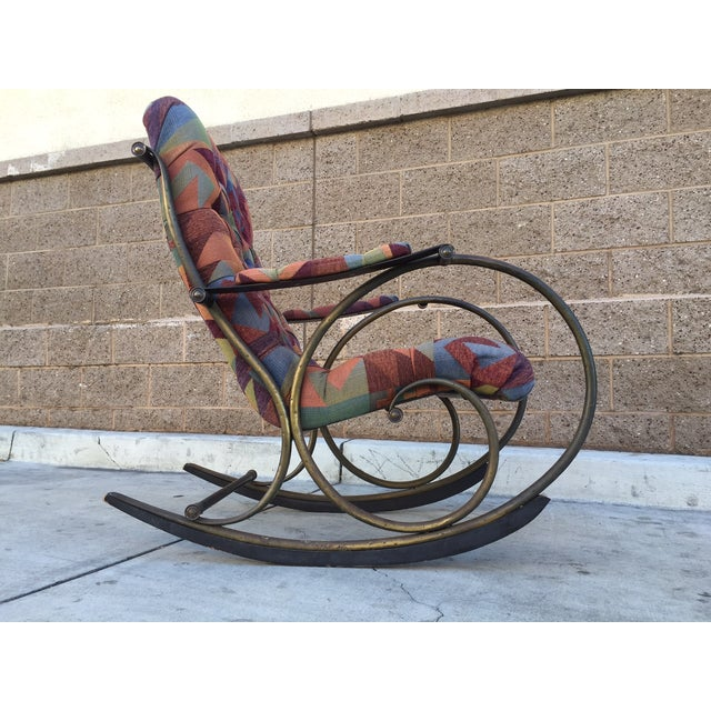 Lee Woodward Rocking Chair - Image 4 of 5