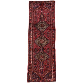 "Traditional Persian Apadana Rug - 3'7"" X 10'7"""
