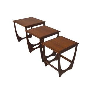 G Plan Mid-Century Nesting Tables - Set of 3