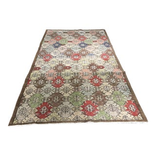 "Bellwether Rugs Vintage Turkish Zeki Muren Rug - 5'3"" x 9'3"""