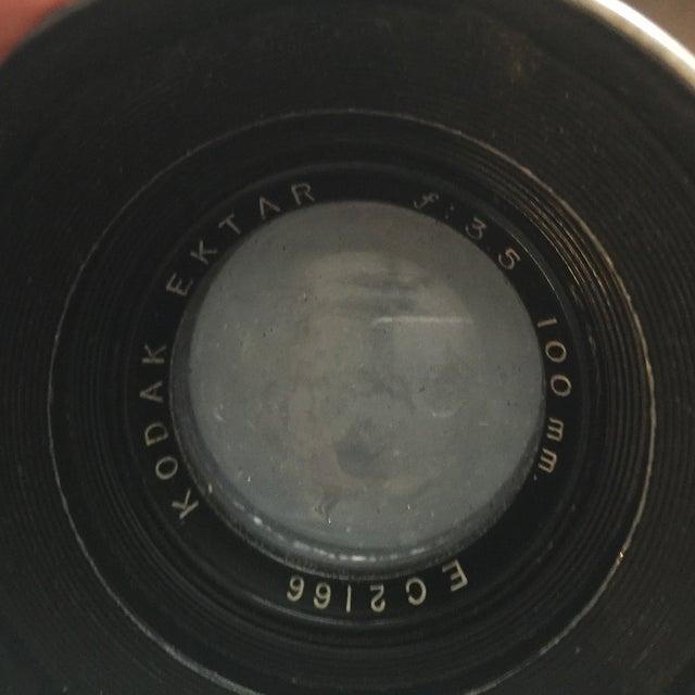 1940's Kodak Medalist Camera With Flash & Case - Image 5 of 5