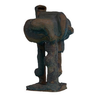 Gene Caples abstract pottery sculpture, USA