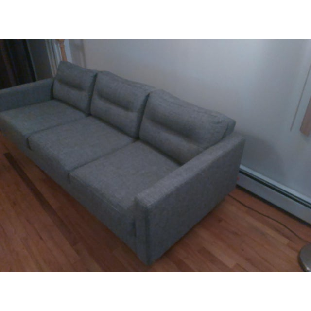 Gus Modern Sterling Gravel Logan Sofa - Image 3 of 5
