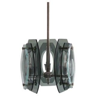 Italian Glass Pendant Attributed to Fontana Arte