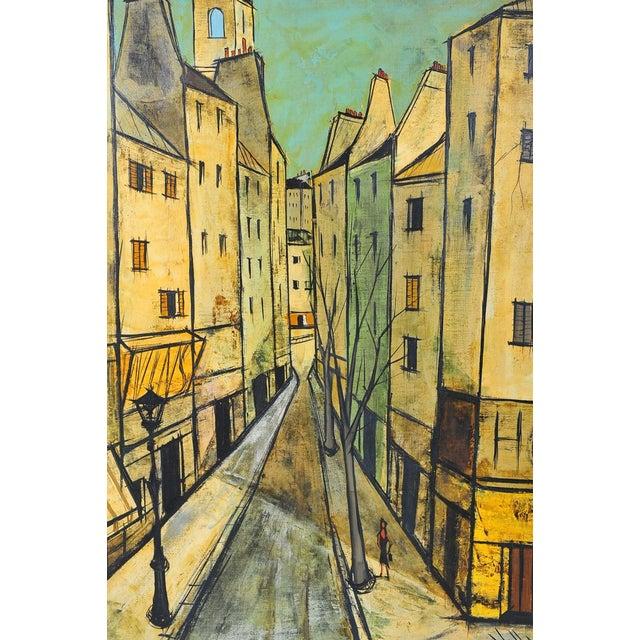Image of Charles Levier - Paris Street Scene - Oil Painting