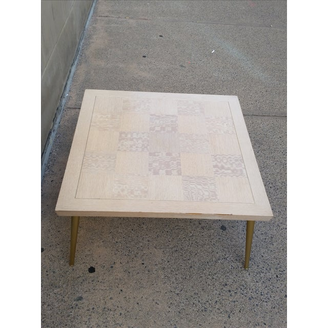 Image of Lane Parquet-Top Coffee Table