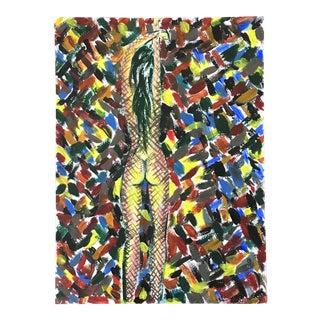 Postmodern Nude Original Painting