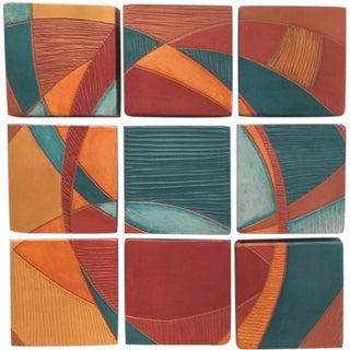 Nine Tiles Wall Art by Liza Halvorsen