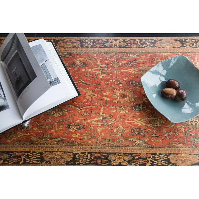 Lamou Persian Rug Printed Wood Coffee Table - Image 6 of 7