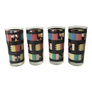 Georges Briard Mid-Century Modern Glasses - Set of 4