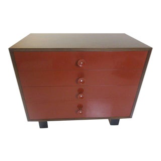 George Nelson for Herman Miller Vanity Chest of Drawers in Walnut