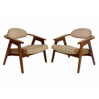 Adrian Pearsall Captains Chairs - a Pair