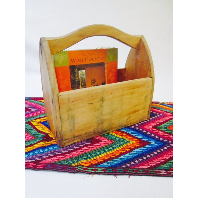 Wooden Tool Box Carrier Caddy - Image 5 of 5