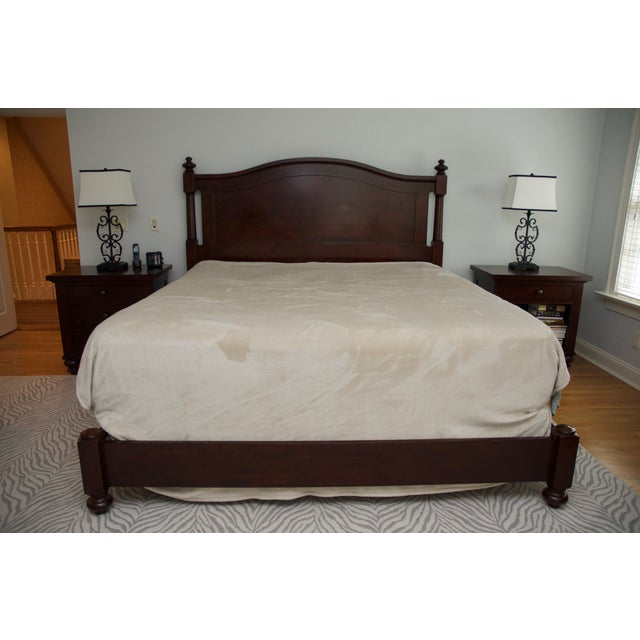 Restoration Hardware Camden Arch King Bed