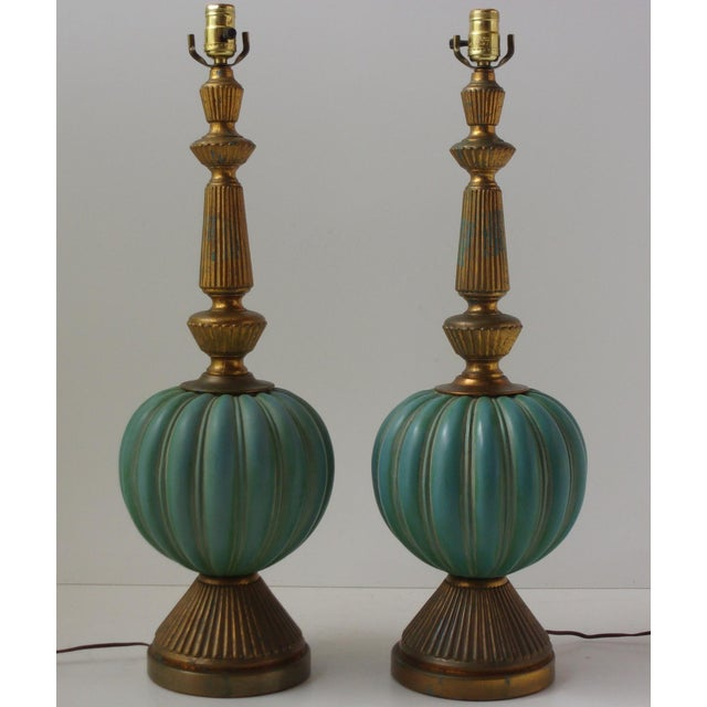 Vintage Italian Table Lamps - A Pair - Image 2 of 9