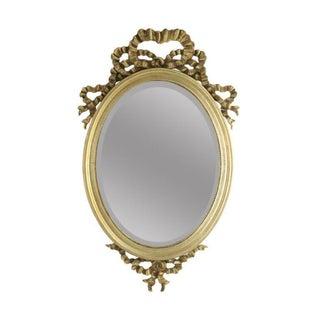 Gilded Ribbon Beveled Mirror