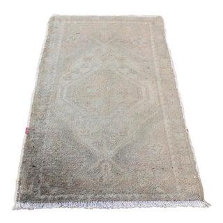 Handmade Turkish Anatolian Muted Tone Carpet - 2'11'' x 1'7''