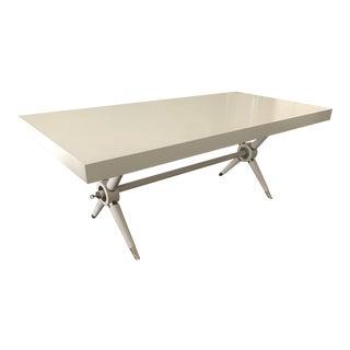 Jonathan Adler White Ventana Dining Table