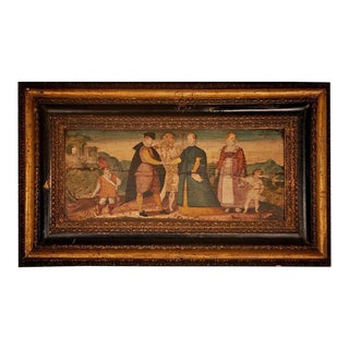 Italian Baroque marriage scene in the style of Vinckeboons, 16th-17th century