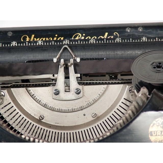 Image of 1928 Urania Piccola Typewriter