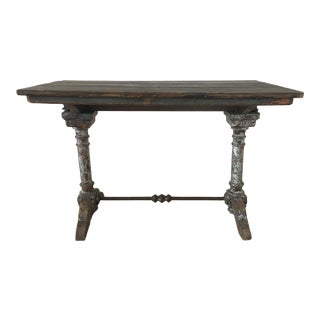 Antique 1920s French Side Table