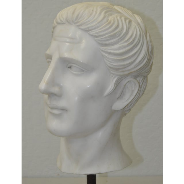 Italian Marble Roman Bust C.1950 - Image 5 of 6