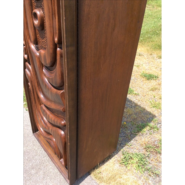 Witco Oceanic Style Bar Cabinet Tiki - Image 7 of 11