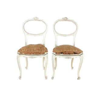 French Hall Chairs - a Pair