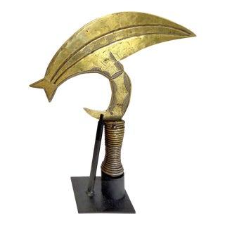 Kota Ritual Throwing Knife on Stand