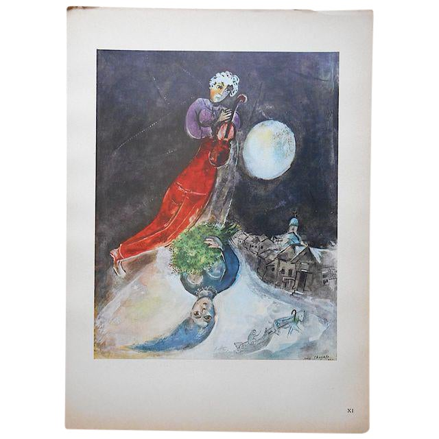 Vintage Marc Chagall Lithograph C.1947 - Image 1 of 2